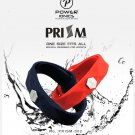 Power Ionics Prism 3000 Ions Titanium, Tourmaline, Germanium, FIR Sports Bracelet - New Upgrade!
