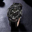 NAVIFORCE NF9144 Water Resistant LED Dual Display Watch Chronograph Digital Watch