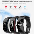 P3 PLUS ECG+PPG Heart Rate Blood Pressure Monitor Smart Watch Activity Tracker Sport Watch - Black