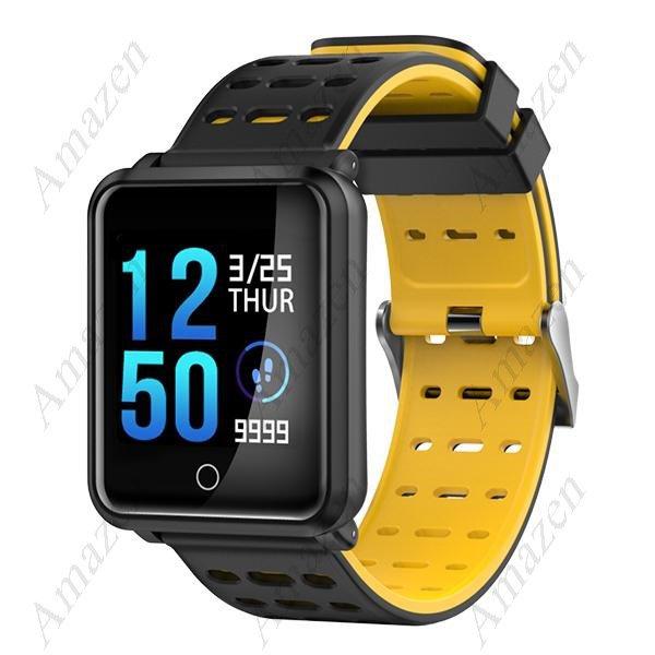 "N88 1.3"" Heart Rate Blood Pressure Monitor IP68 Smart Bracelet Fitness Tracker - Black"