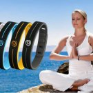 Ion Balance Sports Germanium Tourmaline Power Hologram Silicone Therapy  Bracelet