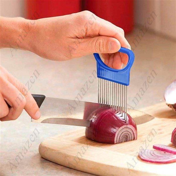 Onion Slicer Holder Fork Vegetable Slicer/Tomato/Potato/Apple/Cutter
