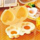 Microwave Egg Cooker Egg Poachers Boiler and Love Egg Mold