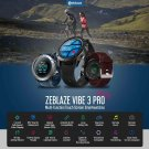Zeblaze VIBE 3 Pro Real-time Weather Optical Heart Rate All-day Tracking Smart Watch - Black
