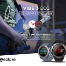 Zeblaze VIBE 3 ECG GREENCELL Heart Rate Instant ECG Activity Tracker Smart Watch