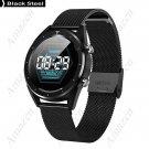 ADT28 ECG Heart Rate Monitor Blood Pressure IP68 Smart Watch 1.54in - Black
