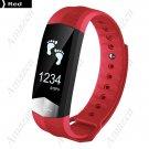 CD01 PRO ECG Blood Pressure Heart Rate Fitness Tracker Smart Bracelet  - Blue
