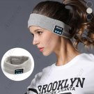 BTH V4.2 Music Sports Headband with Built-in Speaker - Black
