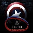 New! 2019 Captain America Super Hero Power Ionics 3000 ions Sports Titanium Bracelet Wristband