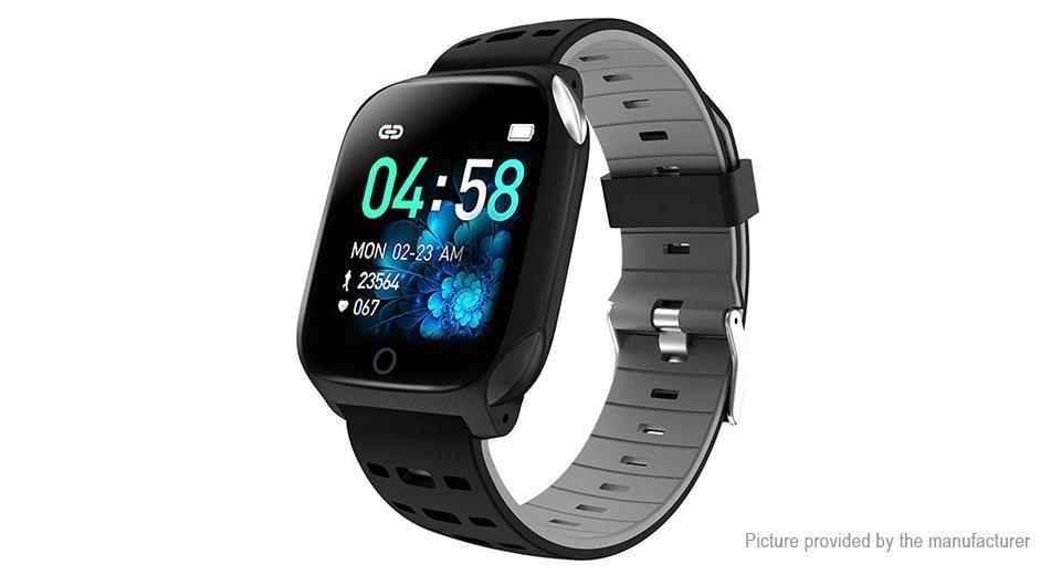 "F16 1.3"" ECG Blood Pressure, Oxygen Heart Rate Fitness Tracker IP68 Multi Sports Watch"