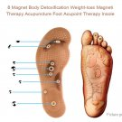 Acupressure Magnetic Massage Insole Foot Therapy Pain Relief Shoe Pad