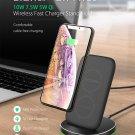 BW FWC6 10W 7.5W 5W Dual Coils Qi Smart Wireless Fast Charger