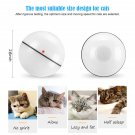 Smart Interactive Pet Toy LED Luminous Automatic 360 Degree Self Rolling Balls - USB Charging