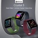 Zeblaze Crystal 3 - Heart Rate + Activity Tracker - Black