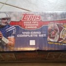 2012 TOPPS COMPLETE FACTORY FOOTBALL SET-440 CARDS + ROBERT GRIFFIN ROOKIE PATCH