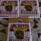 1991 TOPPS ARCHIVES BASEBALL CARD PACK QTY.3-POSSIBLE MICKEY MANTLES