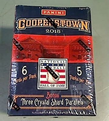 2013 PANINI COOPERSTOWN BASEBALL CARD BOX POS.SIGNATURES HISTORIC TICKETS-INSERT