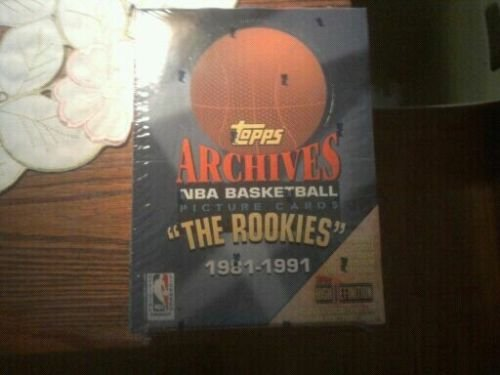 1981-91 TOPPS-ROOKIES ARCHIVES BASKETBALL BOX MICHAEL JORDANS TOPPS ROOKIE CARDS