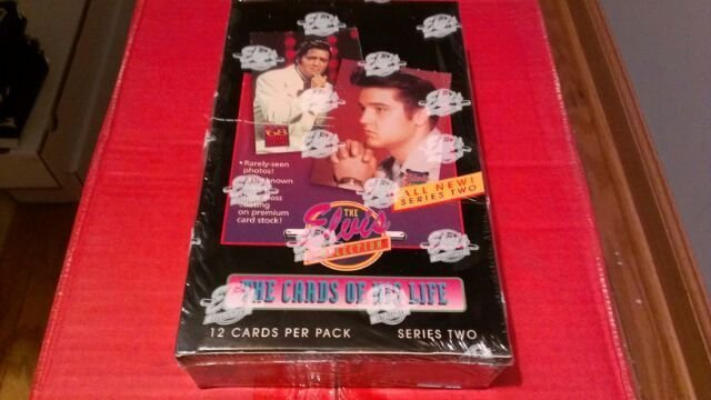 ELVIS PRESLEY 1992 THE CARDS OF HIS LIFE-SER. 2 SEALED TRADING  CARD BOX-INSERTS