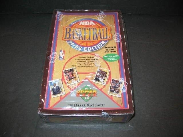 1991-92 UPPER DECK BASKETBALL HIGH SERIES BOX POSSIBLE MICHAEL JORDAN CARDS