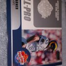 2000 BOWMANS BEST FOOTBALL CARD KURT WARNER RARE ALL PRO GAME WORN JERSEY#KW-QB