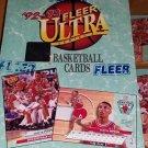 1992-93 FLEER ULTRA BASKETBALL CARD BOX SER 1-POS,HOT PSA 10 JORDAN CARDS.INSERT