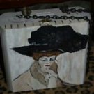 TATTOO handbag purse KLIMT pocketbook WOMAN LRG hat