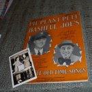 Hillbilly Music Pie Plant Pete Bashful Joe songbook pic