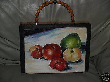 TATTOO handbag purse STILL LIFE pocketbook Cigar Box