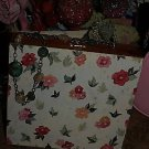 TATTOO handbag purse CHIC pocketbook FLORAL lovely gems