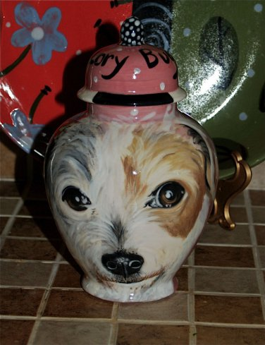 Custom Pet urn for ashes SMALL DOG Terrier ANY BREED Personalized cat cats dogs