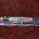 Texaco 1996 OLYMPIC games TOY tanker TRUCK #3 HORN BLOW