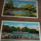 1942 Vintage linen style POSTCARDS OHIO 1 ARMY 2 CARDS