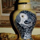 Custom Memorial CERAMIC SMALL Pet urn for bird birds parrot sm animal pet urns