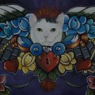 CUSTOM Memorial dog cat Painting of your pet 16 x 20