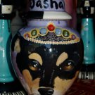Custom SMALL Pet urn for chihuahua rat terrier ashes ash cremation jar memorial