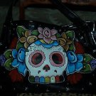 TATTOO handbag purse DAY of the DEAD Skull sailor Kahlo custom handmade tattoos