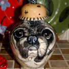 Custom Pet urn for ashes PUG DOG cremation urns SMALL ash pugs sml dogs RaRe