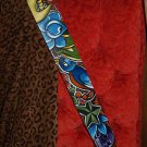 TATTOO Leather Guitar strap Nautical star sparrow skull
