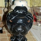 Custom memorial portrait DOG cremation PET urn for ASHES Shar pei any pet breed