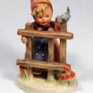 Vintage Hummel Signs of spring figure original sticker good condition Goebel 203
