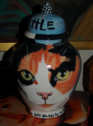 Custom SMALL Pet urn for CAT ashes PETS Cats ALL breeds Calico kitty cat UNIQUE