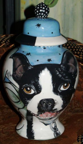 Custom memorial Pet URN DOG cremation ANY BREED Unique