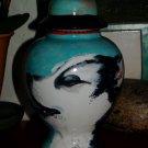 Custom Portrait MEMORIAL Pet URN DOG hound cremation ASH Howling HUSKY urn RARE