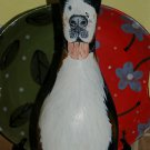 Hand PAINTED Bowling Pin of your pet Dog ANY BREED Burmese Mountain Dog ALL pets