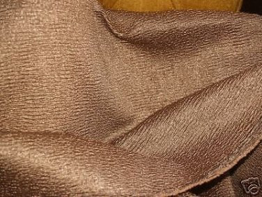 Designer drapery fabric 3 YARDS gold GLITZ! ELEGANT