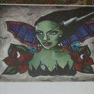 Ltd. Edition s/n Tattoo horror BRIDE of Frankenstein print gothic artist