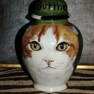 Custom SMALL Pet urn for CAT ashes ash Cats cremation