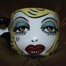 Tattoo Ceramic OVERSIZED Mug Cereal bowl Latte Cup SAFE