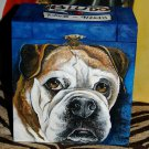 Custom hand painted portrait memorial LARGE Wood box Pet URN For ashes DOG PETS
